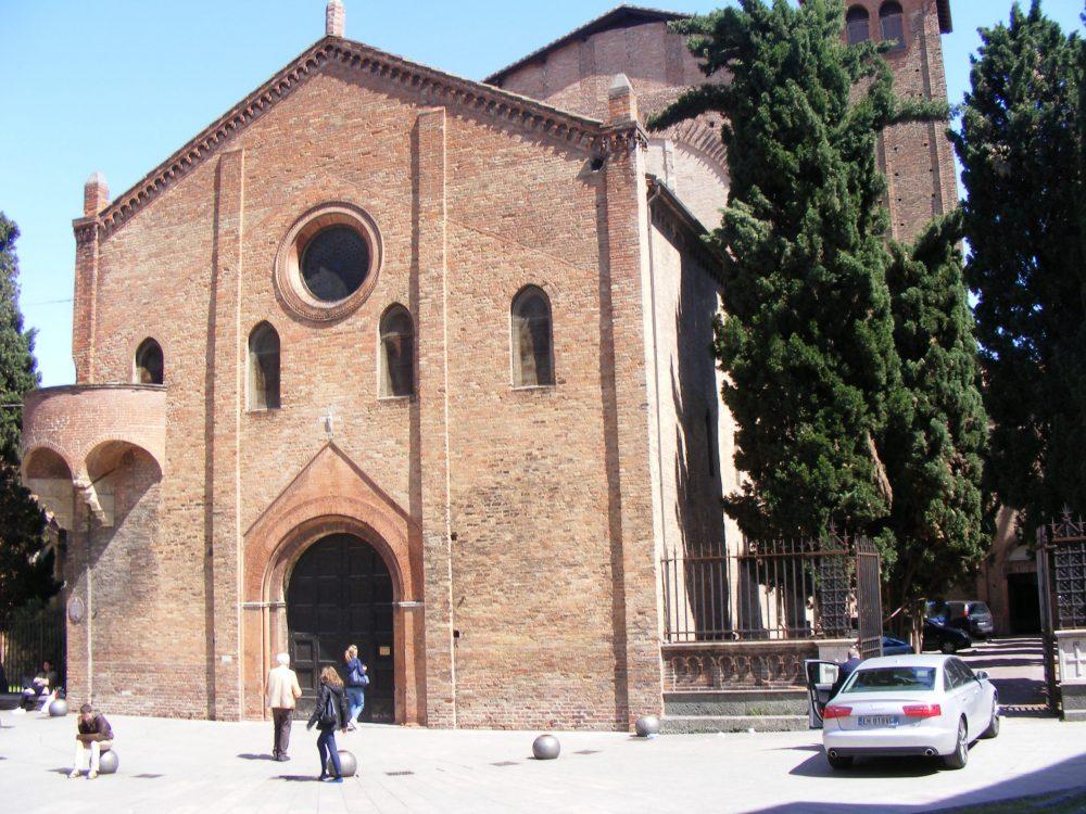 Болонья Церковь Распятия Господня