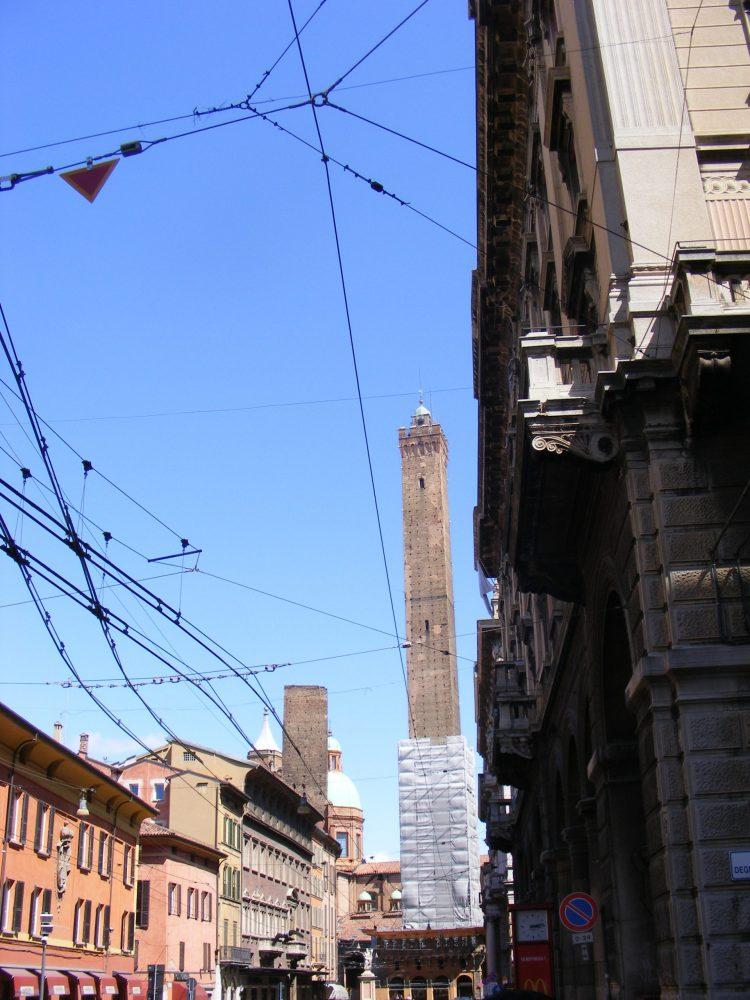 Болонья башни