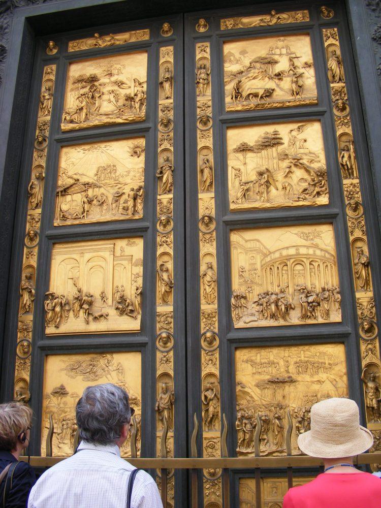 Восточные врата Баптистерий Флоренция