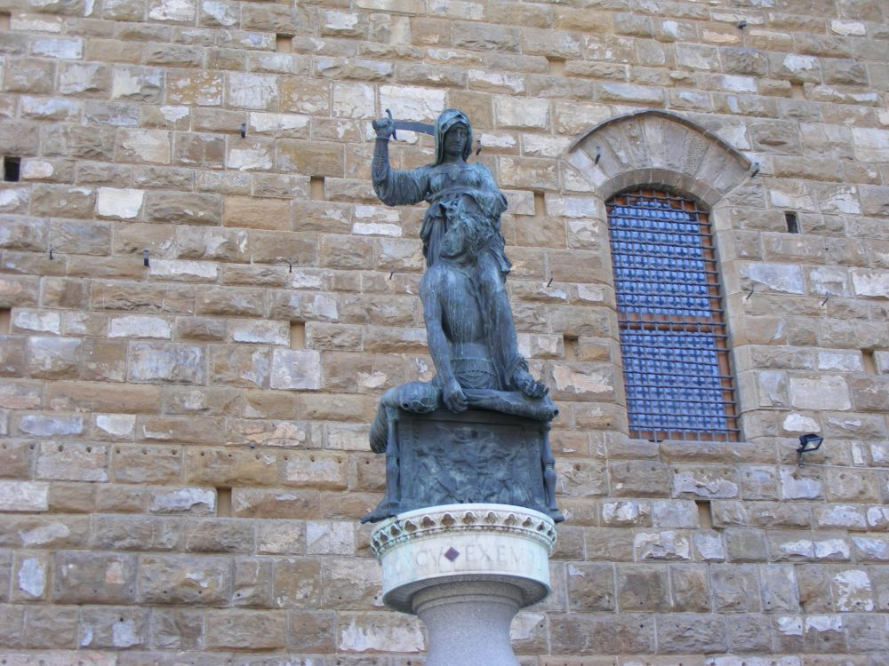 Флоренция скульптура