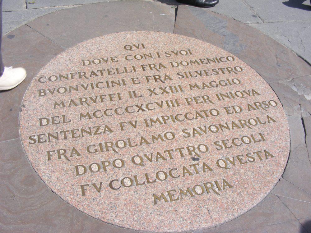 Савонарола Флоренция