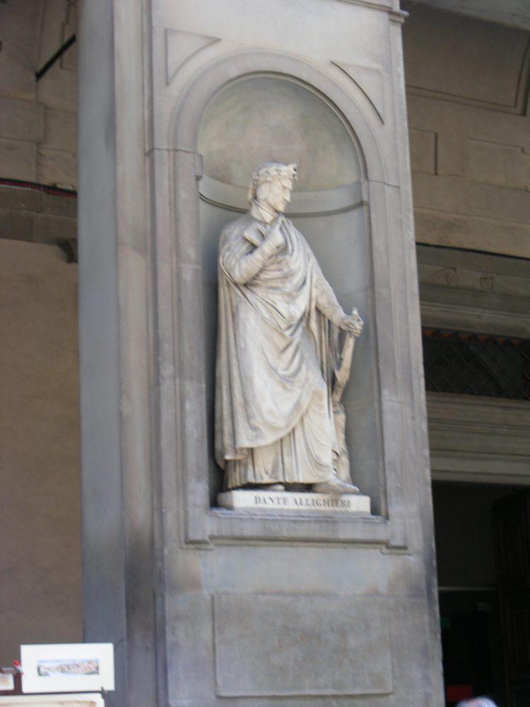 Памятник Данте Флоренция