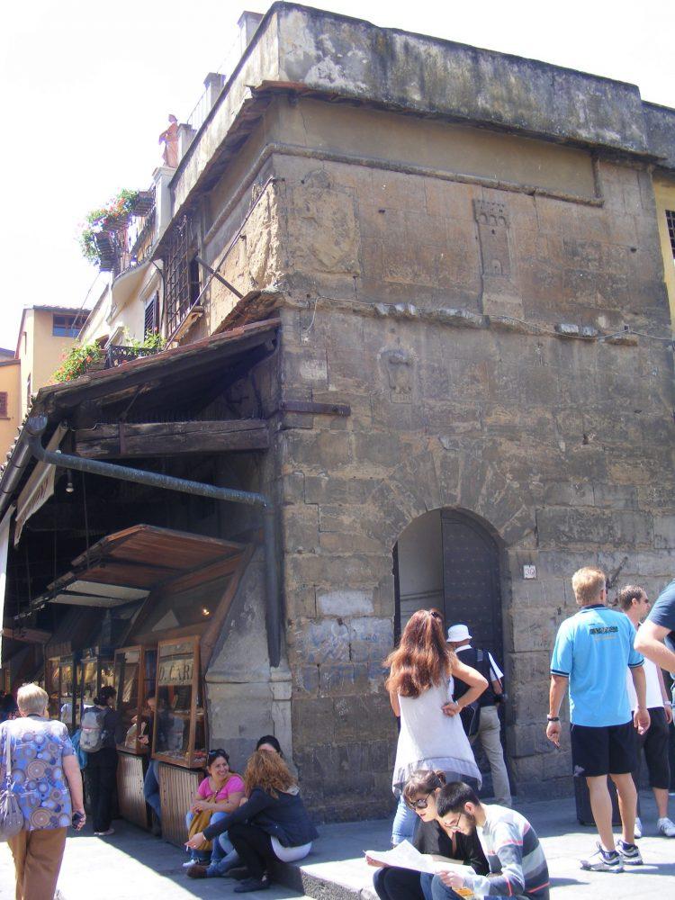 На мосту Понте Веккьо