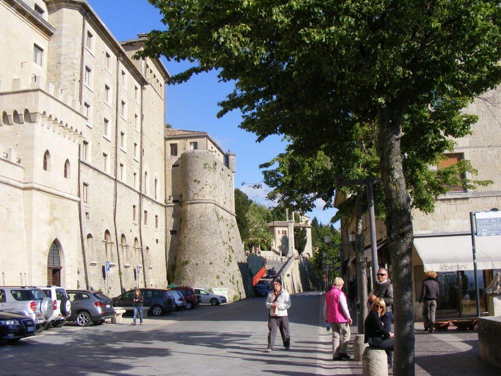 Сан-Марино улицы