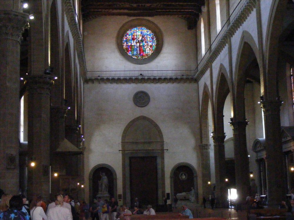 Фото церковь Санта Кроче Флоренция