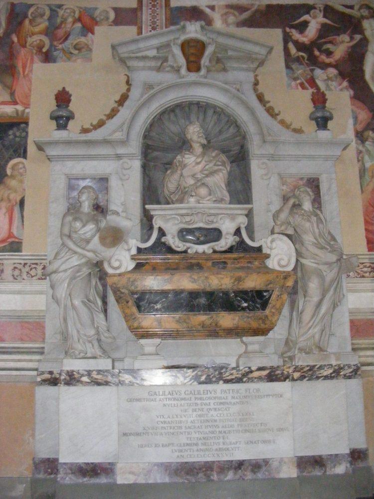 Надгробие Галилео Галилея