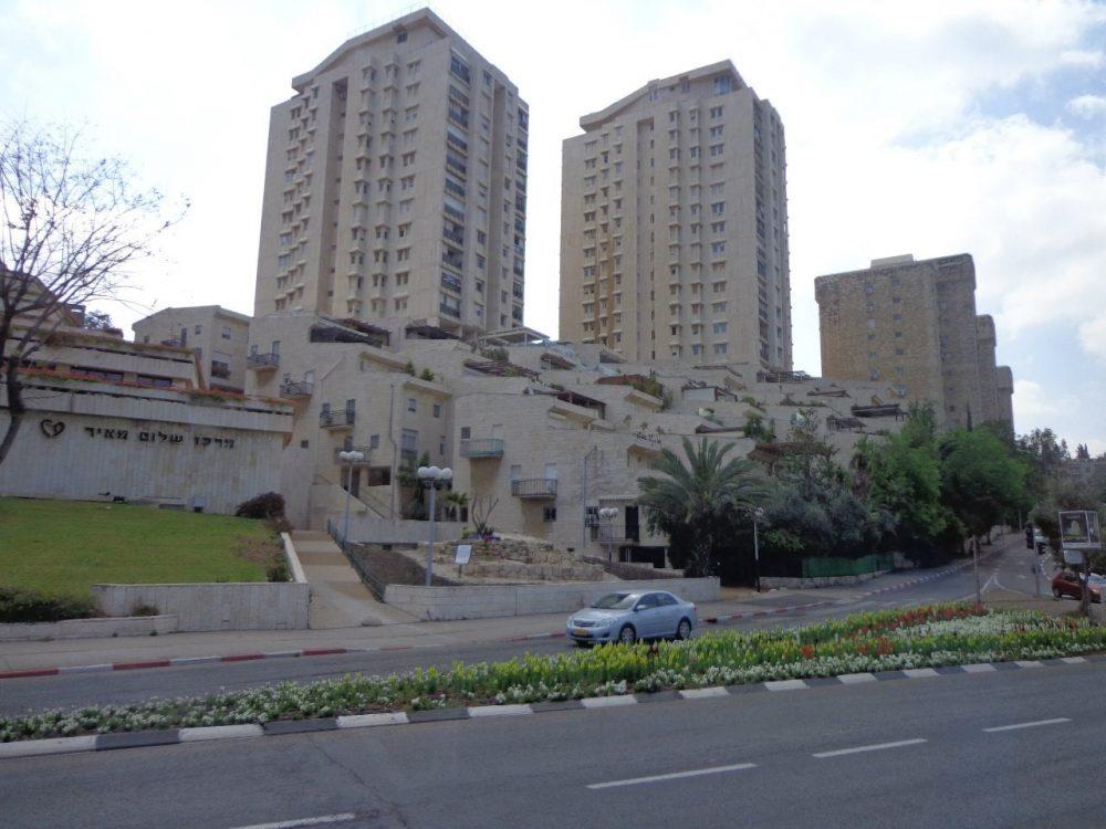 Иерусалим современные здания