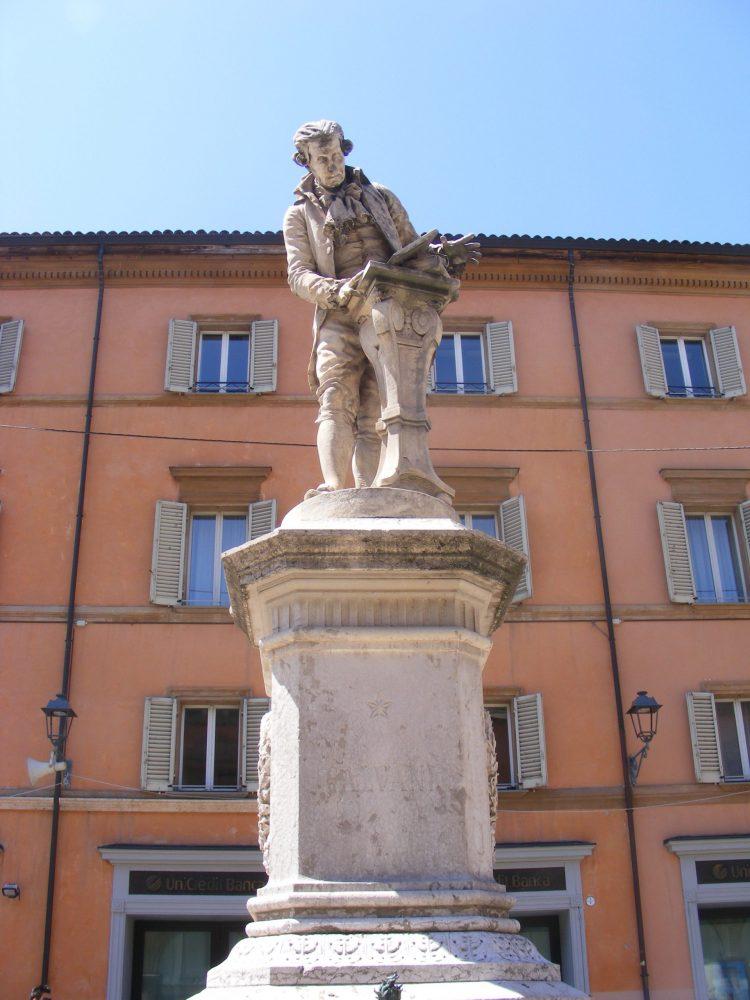 Памятник Гальвани Болонья