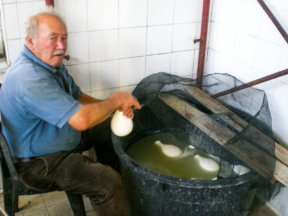 Сыр на Сицилии