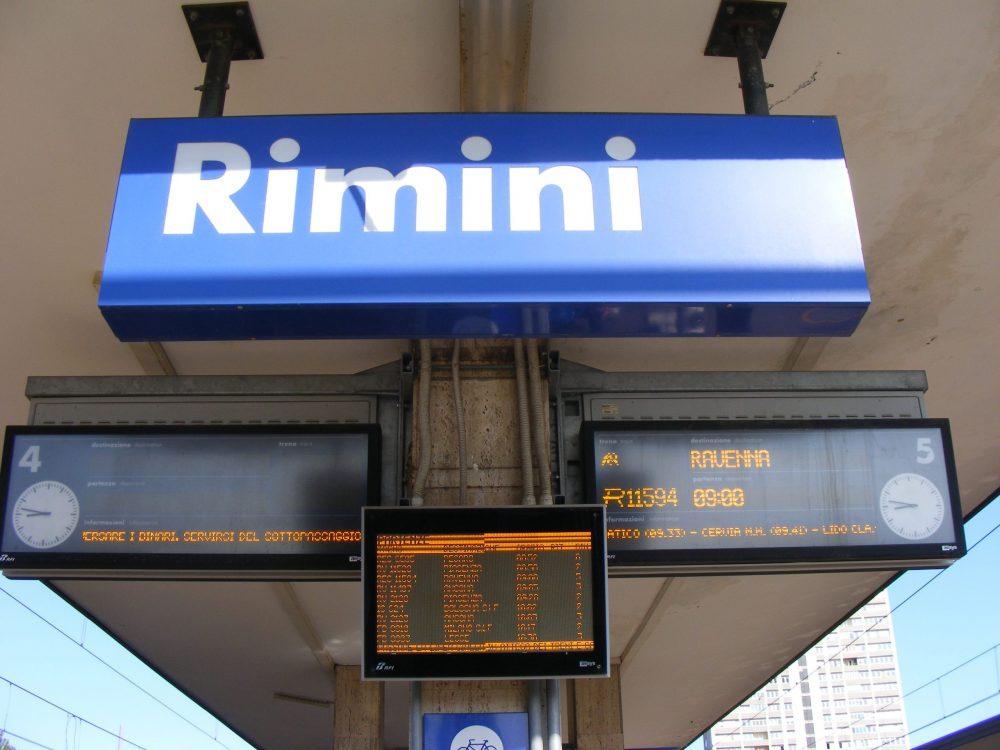 Римини Равенна как добраться