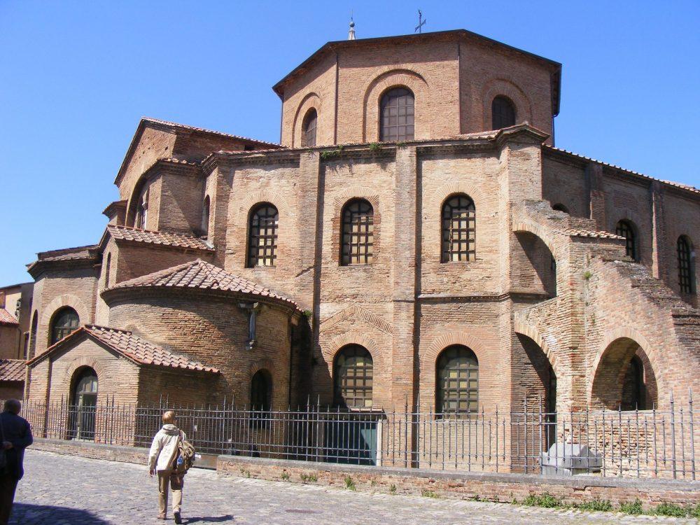 Базилика Сан-Витале Равенна фото