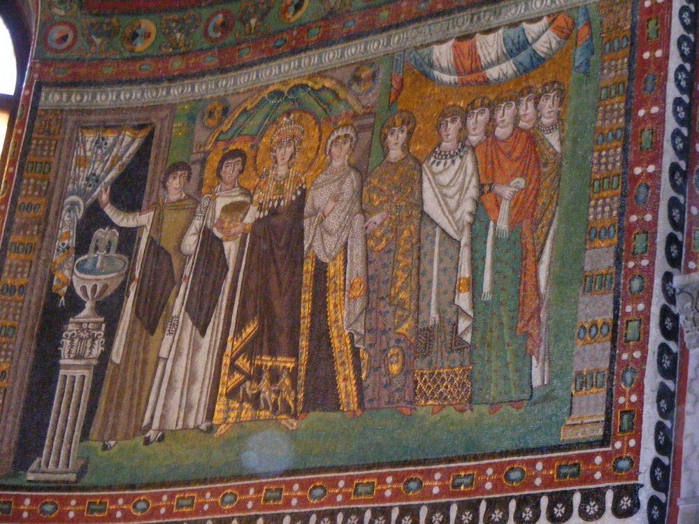 Равенна мозаики фото