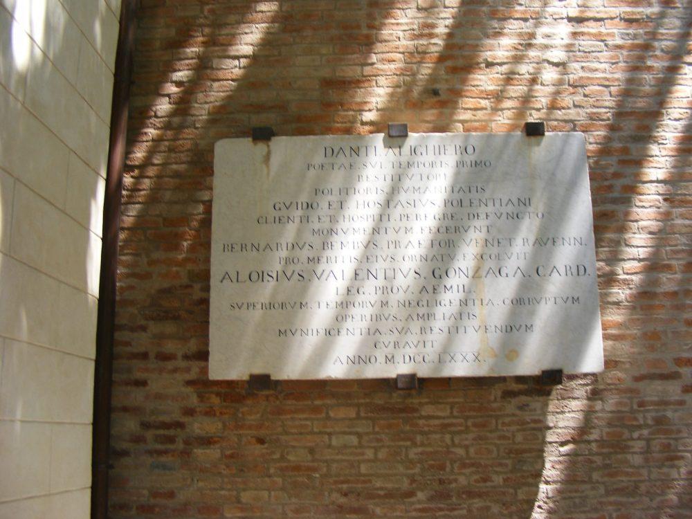 Гробница Данте фото