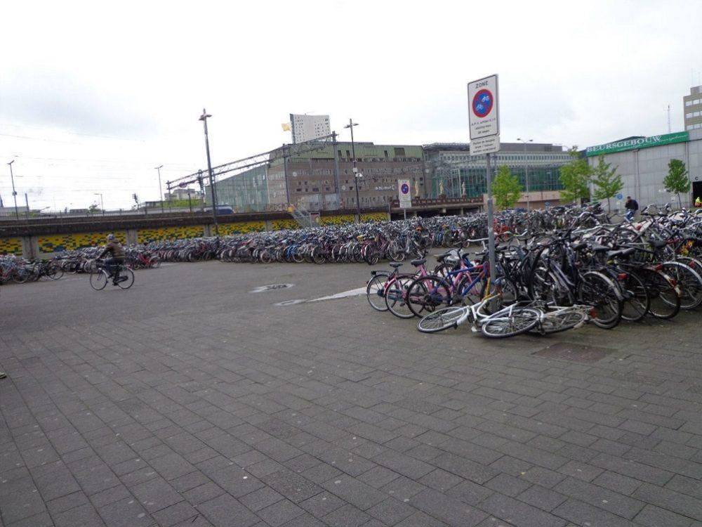 Амстердам велосипеды фото