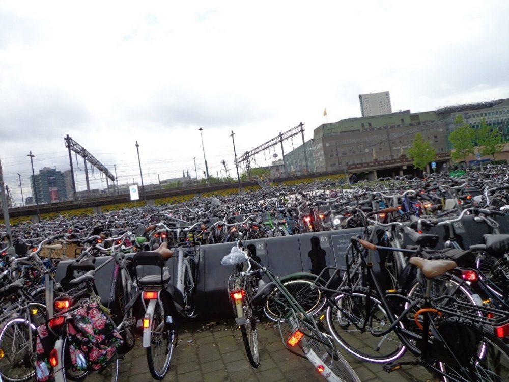 Велосипеды Амстердам фото