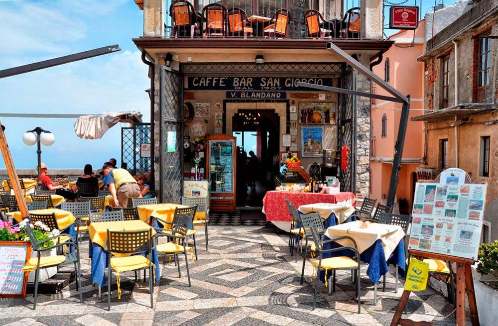 Кафе Святого Георгия Кастельмола