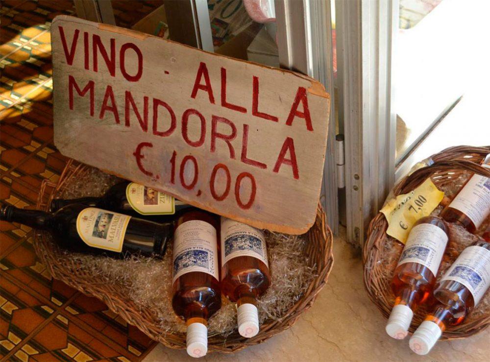 Сицилия миндальное вино