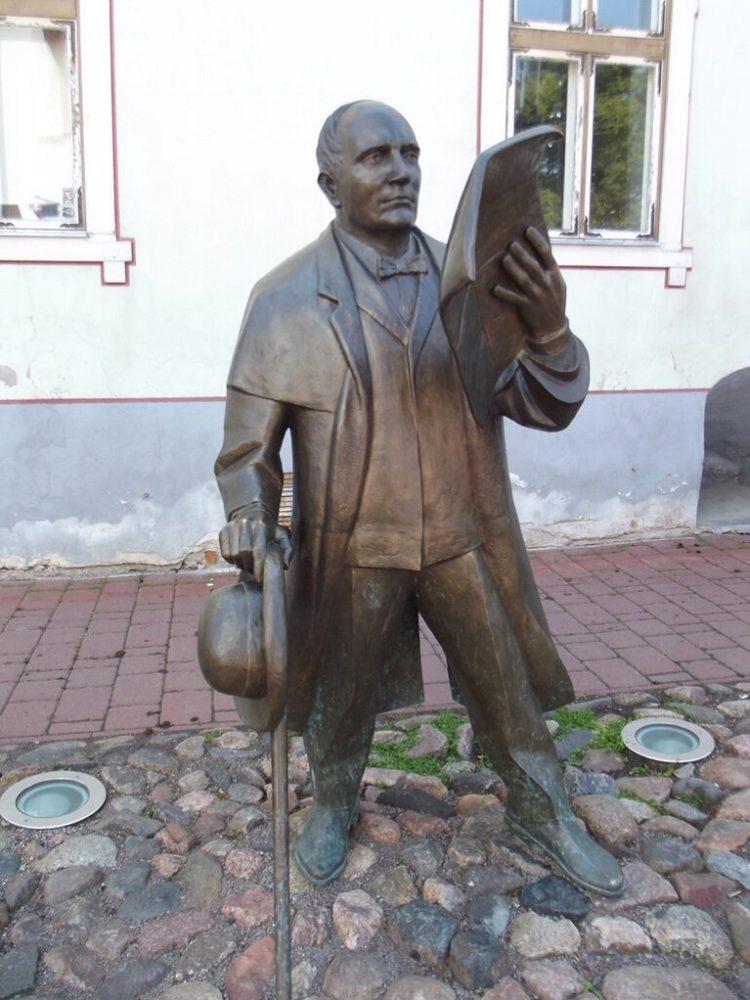 Пярну Эстония памятники