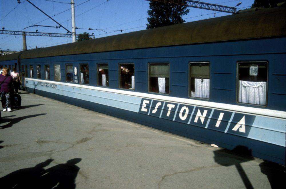 Поезд Эстония