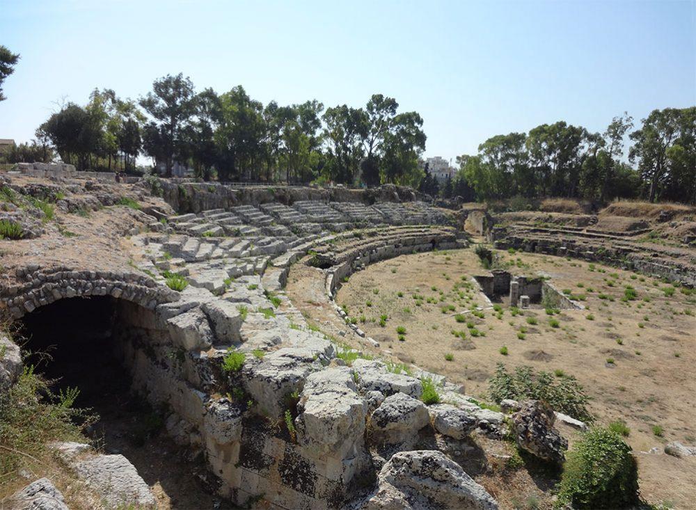 Сиракузы римский амфитеатр