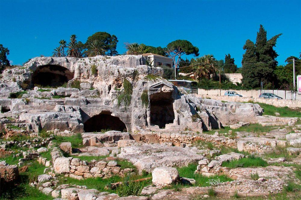 Италия могила Архимеда