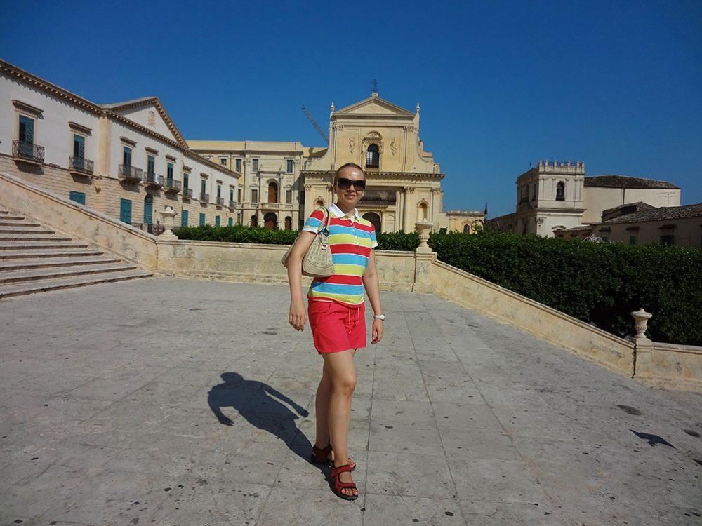 Сицилия Ното церкви