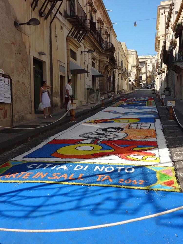 Сицилия город Ното