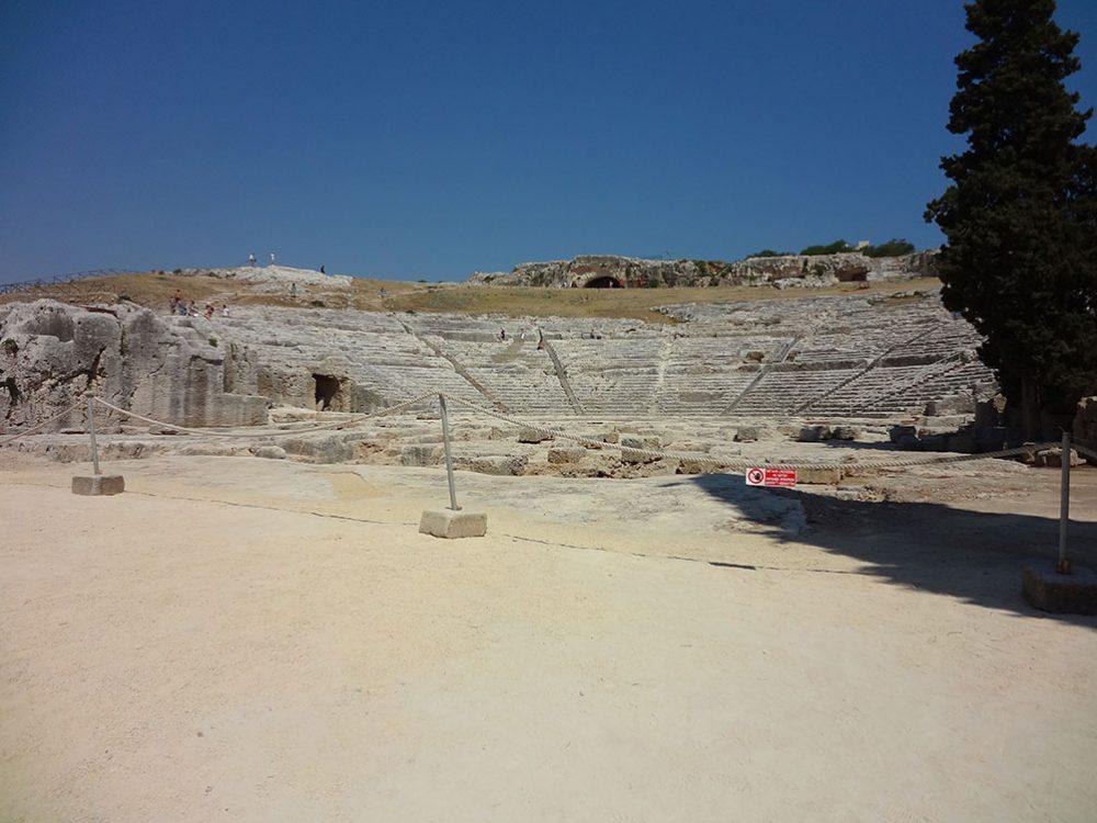 Сиракузы греческий театр