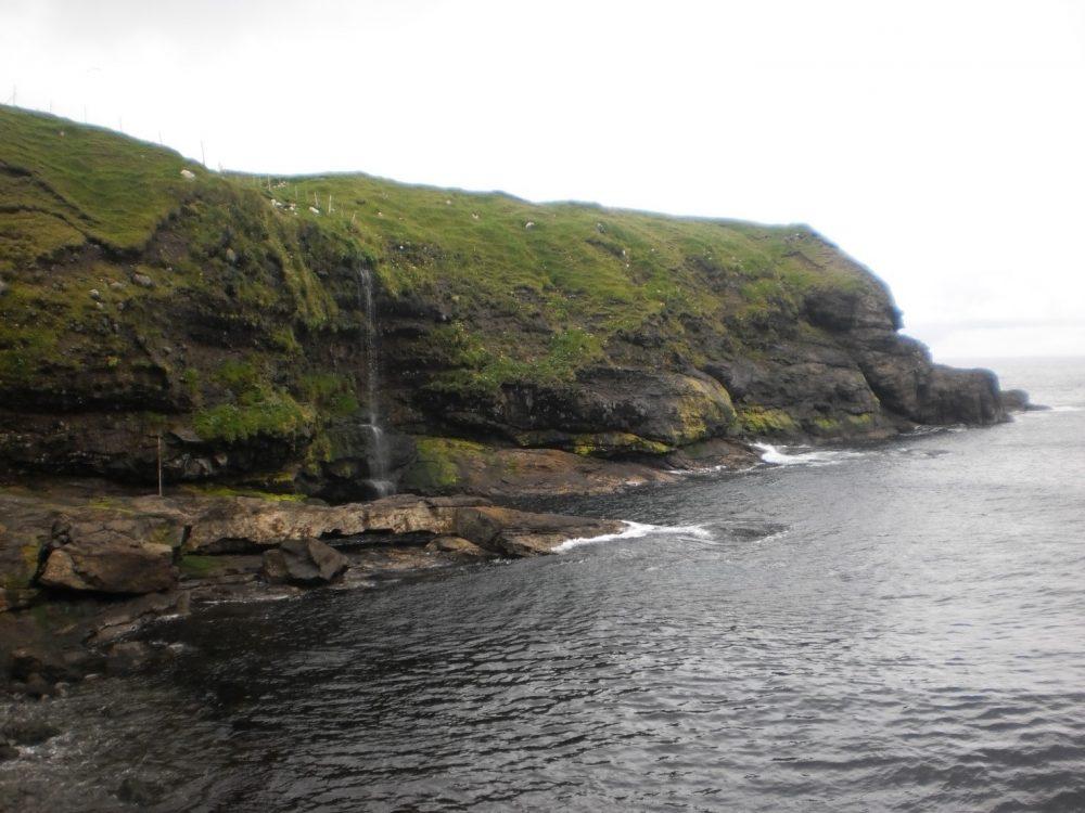 Фарерские острова водопады