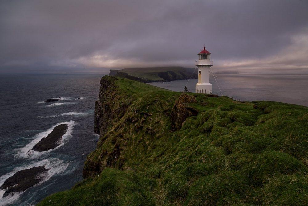 Фарерские острова маяк