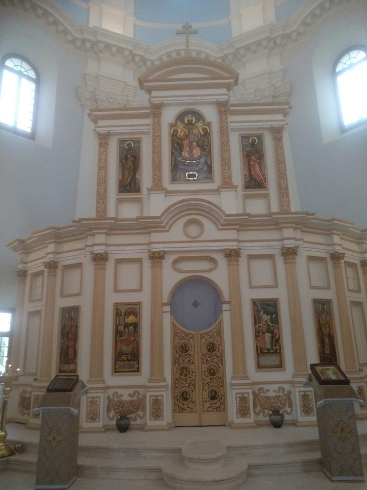 Подмоклово церковь внутри
